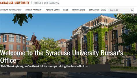Vt Bursar Office by 5 Things The Syracuse Bursar Office Is Thankful For And