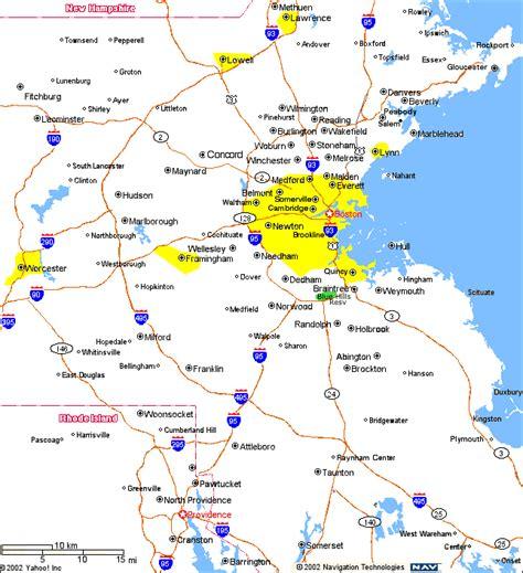 map of boston area boston and surrounding area map swimnova