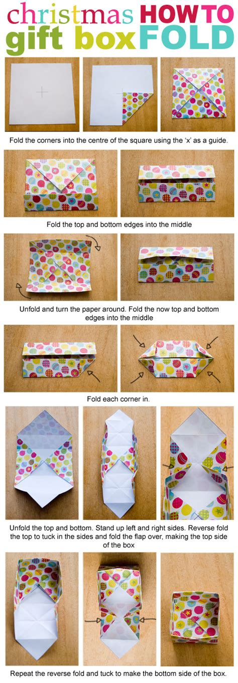 How To Make An Origami Gift Box With Lid - 7 best images of printable boxes to fold origami gift