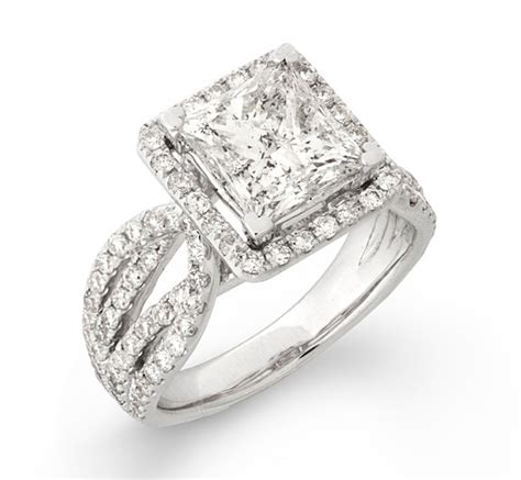 the princess cut ring 200 gorgeous engagement rings to