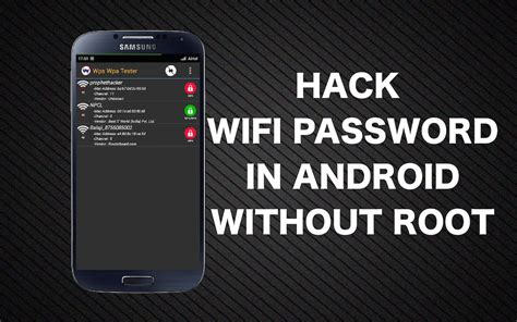how to hack wifi password on android how to hack wifi password using android phone without root
