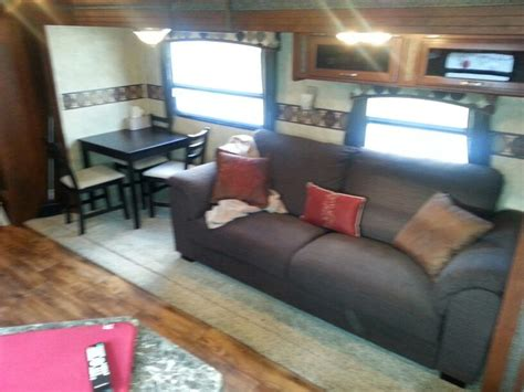 rv dinette table replacement rv remodel replaced booth dinette and knife sofa
