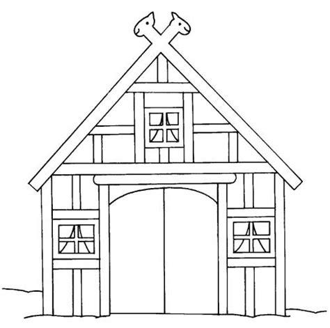 scheune zeichnen kostenlose malvorlage bauernhof scheune auf dem bauernhof