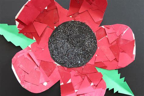 poppy crafts for remembrance day poppy craft