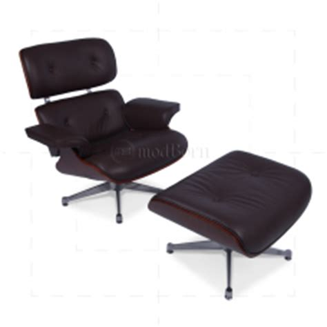 friends couch replica for sale eames style lounge chair and ottoman brown leather cherry