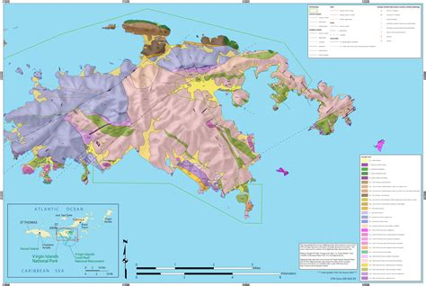 map of st and surrounding islands islands maps npmaps just free maps period