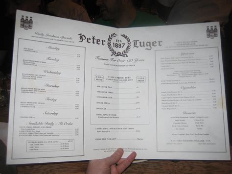 peter luger steak house barcade visit
