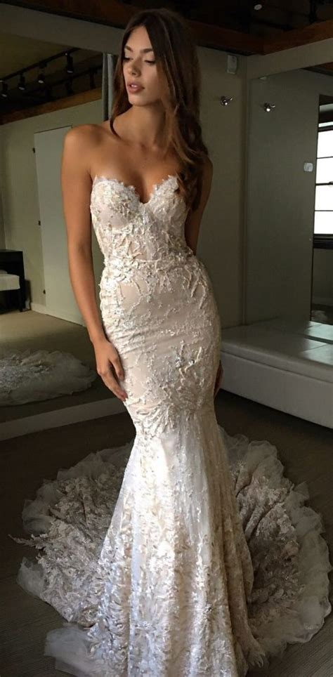 Dress Berta Pink And White Os tight fitted wedding dresses wedding dresses wedding ideas