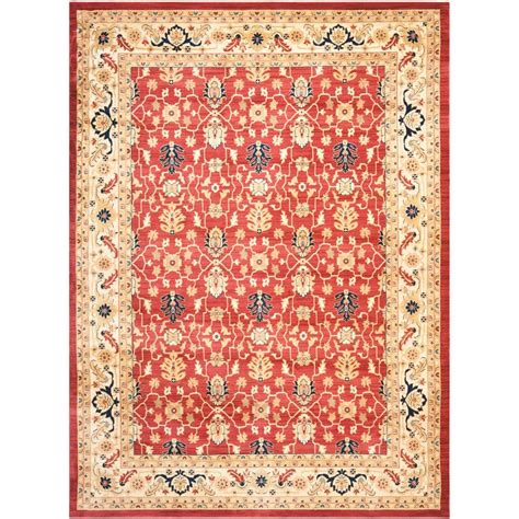8 X 11 Area Rug Safavieh Creme 8 Ft X 11 Ft Area Rug Aus1620 4011 8 The Home Depot