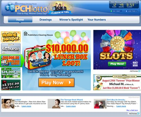 Lotto Pch Com Pick Winning Numbers - pchlotto image mag