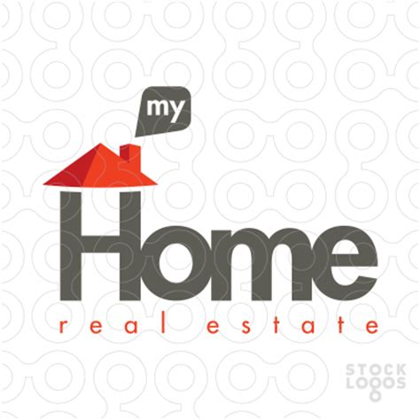 sold logo my home real estate stocklogos