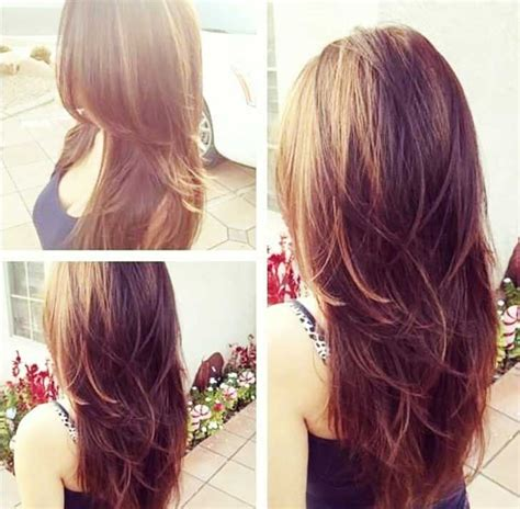 layered haircuts for thick hair pinterest layered long hairstyles for thick hair hair pinterest