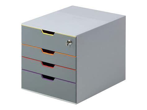 bloc de classement bureau durable varicolor safe bloc de classement 224 tiroirs