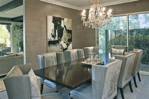 Dining Room Contemporary Dining Room Los Angeles Modern Dining Room Ls