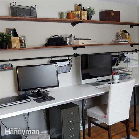 home office desk organization ideas   diy  family handyman