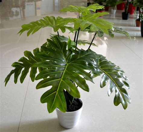 wholesalepcslottaro leaves plants artificial tree