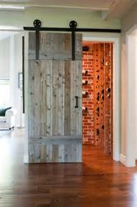 Sliding Barn Door Designs Sliding Barn Doors Barn Doors And Wine Cellar On