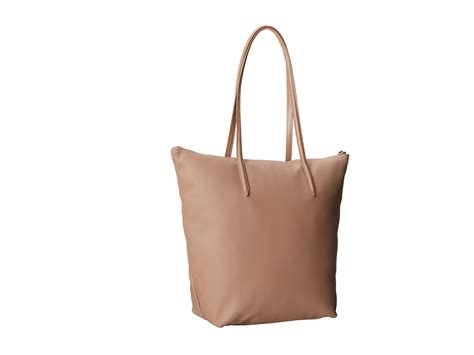 Lacoste Bag Vertical Motif lacoste l 12 12 concept m1 vertical tote bag shipped free at zappos