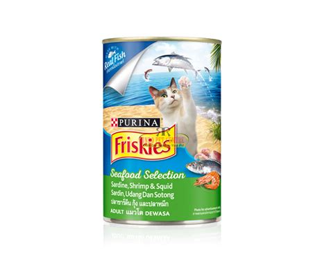 Friskies Kitten 400gr friskies can seafood selection 400gr indo pet centre
