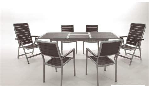 sillas y mesas exterior sillas de jard 237 n y mesas de aluminio