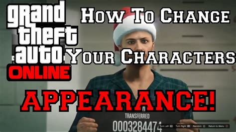 reset gta online character gta 5 online how to change your characters appearance