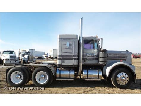 Kenworth 50 Inch Sleeper For Sale by 1981 Kenworth W900a Sleeper Truck Purple Wave Auction