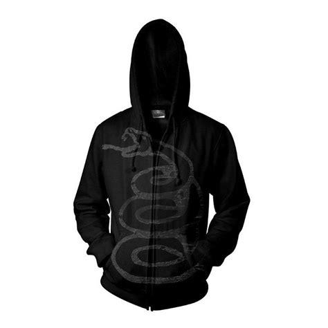 black album zip metallica black album burnished zip hoodie rockzone