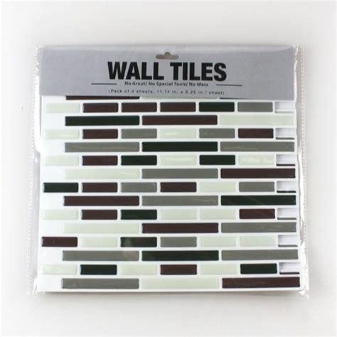 Peel And Stick Vinyl Tile Backsplash Frentes De Cocina Nuevos Con Estos Azulejos Adhesivos
