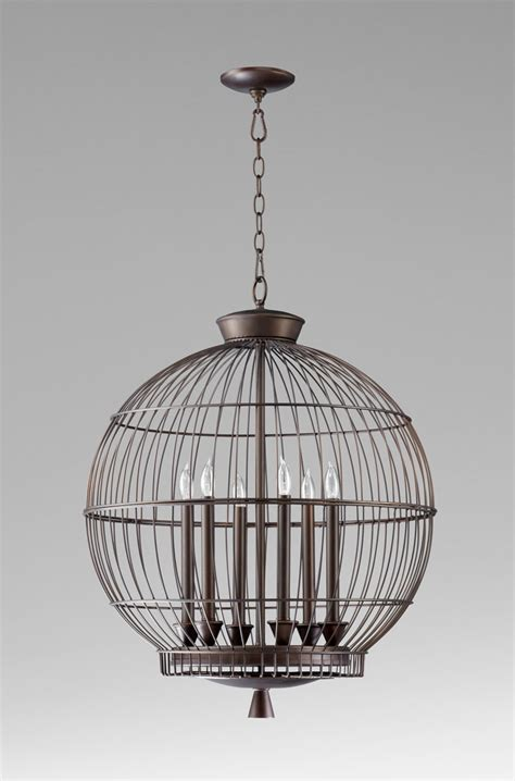 Birdcage Pendant Light Hendricks Bronze Birdcage Pendant Light By Cyan Design