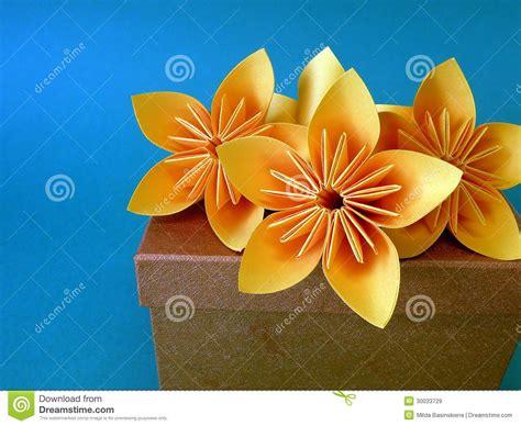 Flores Origami - flores de origami imagens de stock royalty free imagem
