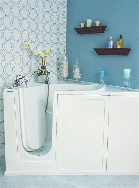 Walk In Bathtubs Designed To Fit Most Standard Tub Footprints The Premier