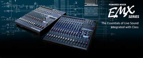 Mixer Yamaha Emx 5016 emx5016cf mixers products yamaha