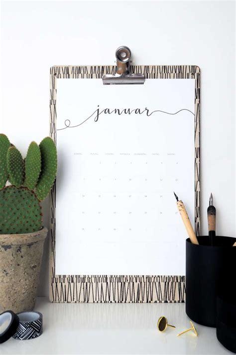Kalender 2018 Gratis Freebie Kalender 2018 Als Kostenloses Printables Paulsvera