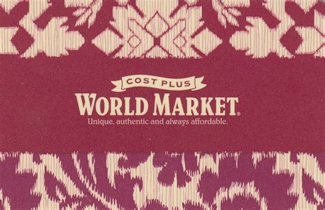 Cost Plus World Market Sweepstakes - 300 cost plus world market gift card sweepstakes free samples