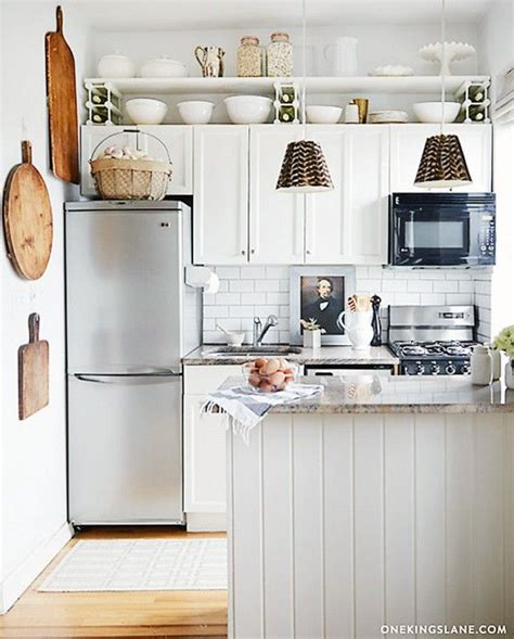 space saving ideas for small apartment kitchens