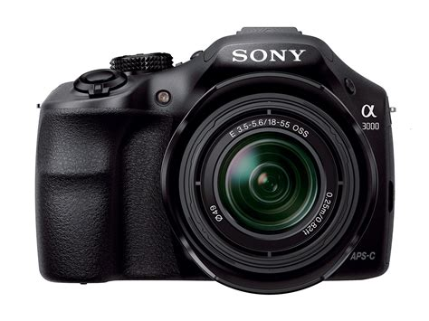 sony alpha digital sony unveils new a3000 a dslr style mirrorless