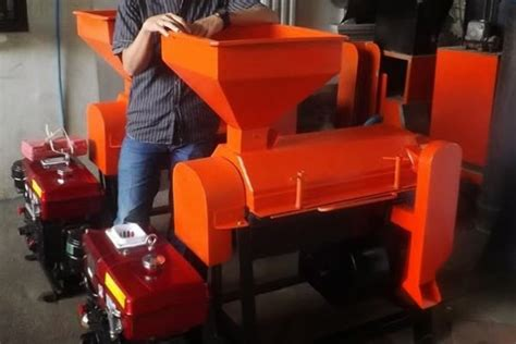 Mesin Pengupas Kopi Kering pertanian modern alat alat pertanian modern yang bisa