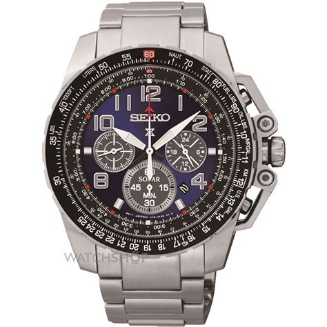 s seiko prospex chronograph solar powered