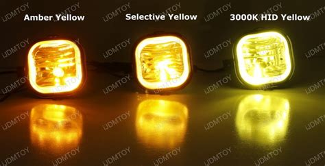 yellow led light bulbs how to discern our three led bulb fog light yellow shades