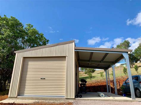 custom car shed  awning project  work portfolio