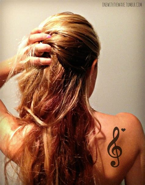 music tattoos tumblr note on