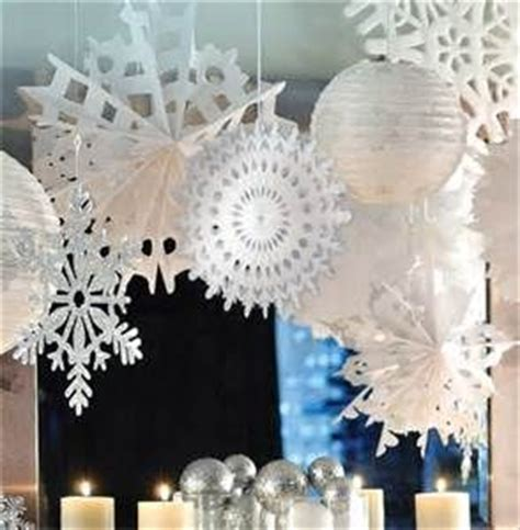 Snow Themed Decorations by 25 Unique Winter Decorations Ideas On