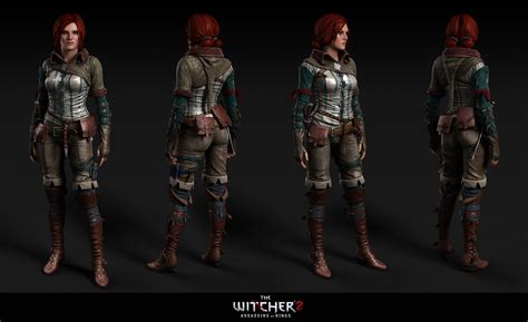 witcher 3 yennefer and triss armors at skyrim nexus mods tw2 triss at the witcher 3 nexus mods and community
