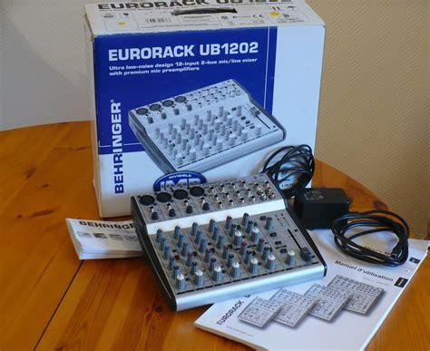 Mixer Behringer Ub1202 behringer eurorack ub1202 image 726894 audiofanzine