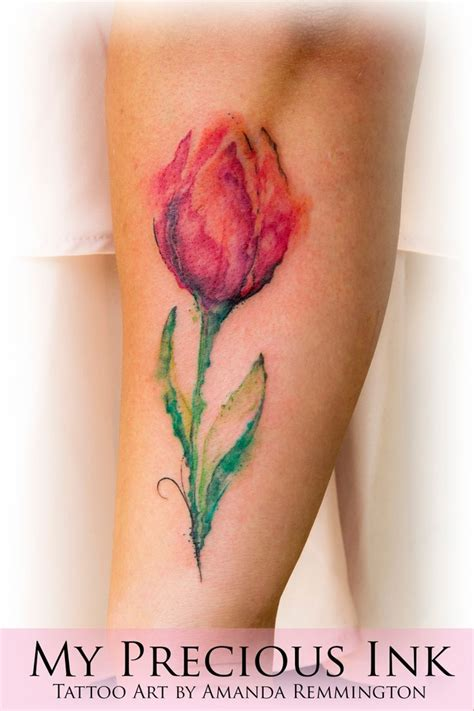 watercolor tulip tattoos 142 best images about my precious ink on