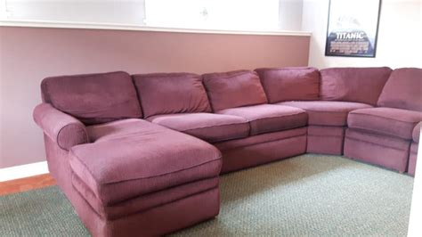 lazy boy collins sectional great condition saanich