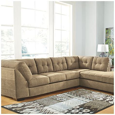 ashley mocha sectional signature design by ashley 174 driskell mocha 2 piece
