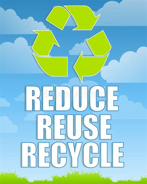 reduce reuse recycle shareonwall com reduce reuse recycle sign 2 royalty free stock photos