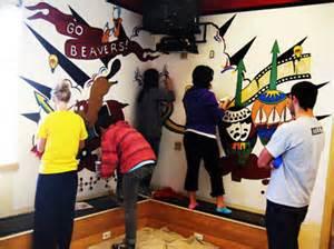 Ballard Design Store my ballard 187 students paint new mural at ballard high school