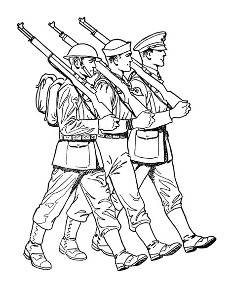 soldier coloring pages az coloring pages